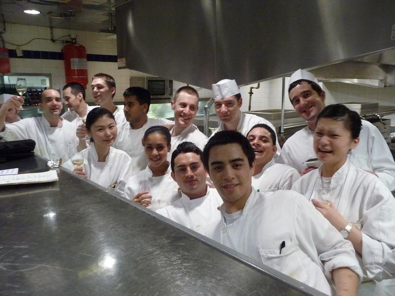 Le Bernardin staff