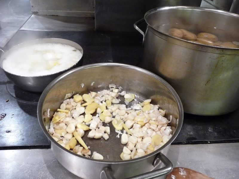 Le bernardin kitchen