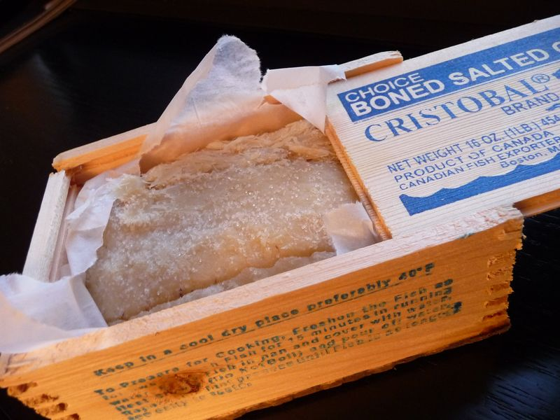 brandade salted cod