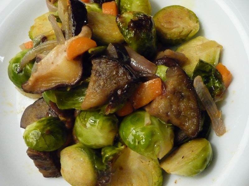 Brussel Sprout side dish