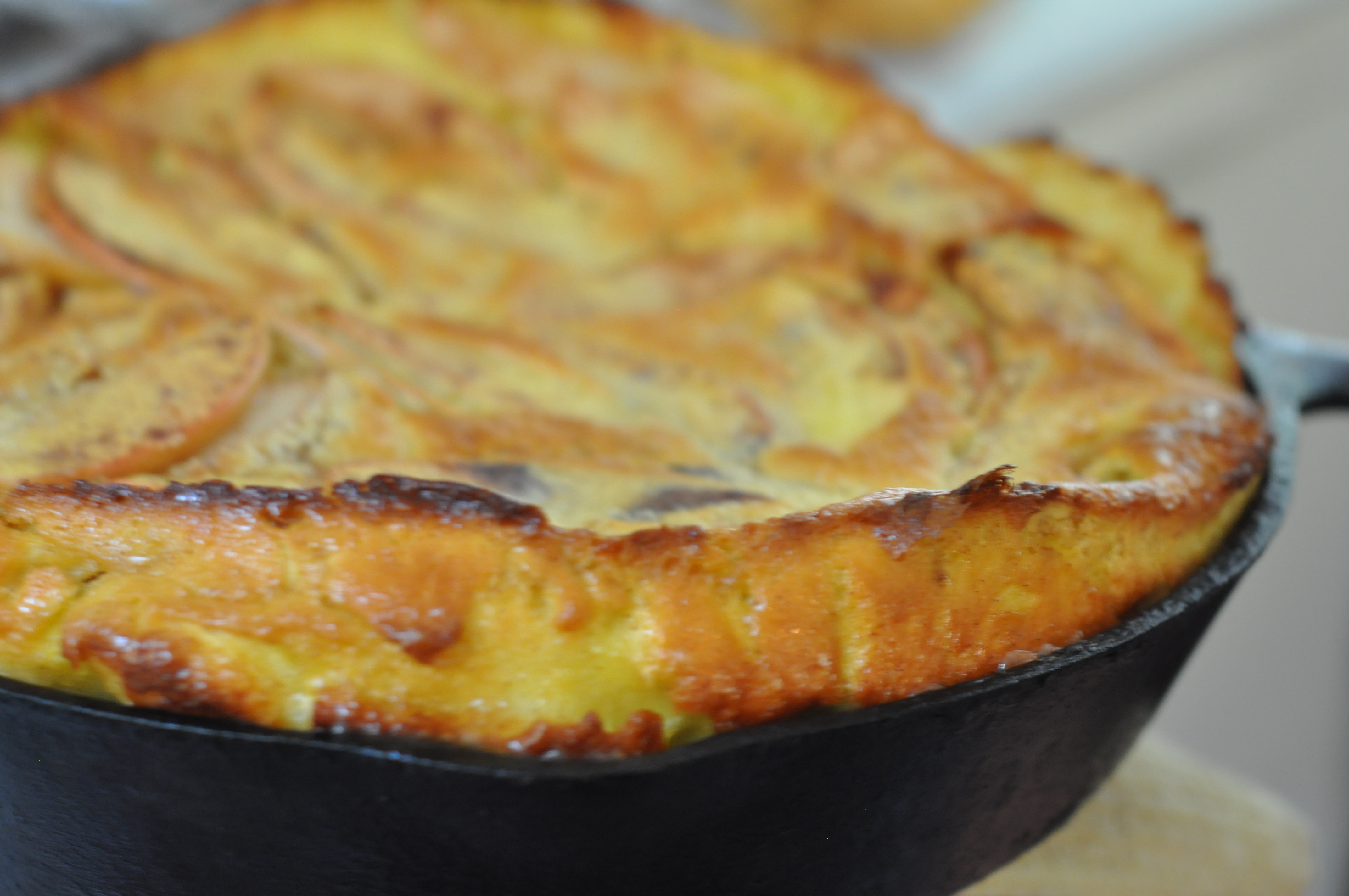 50+ Cast Iron Skillet Apple Pancake Recipe Background