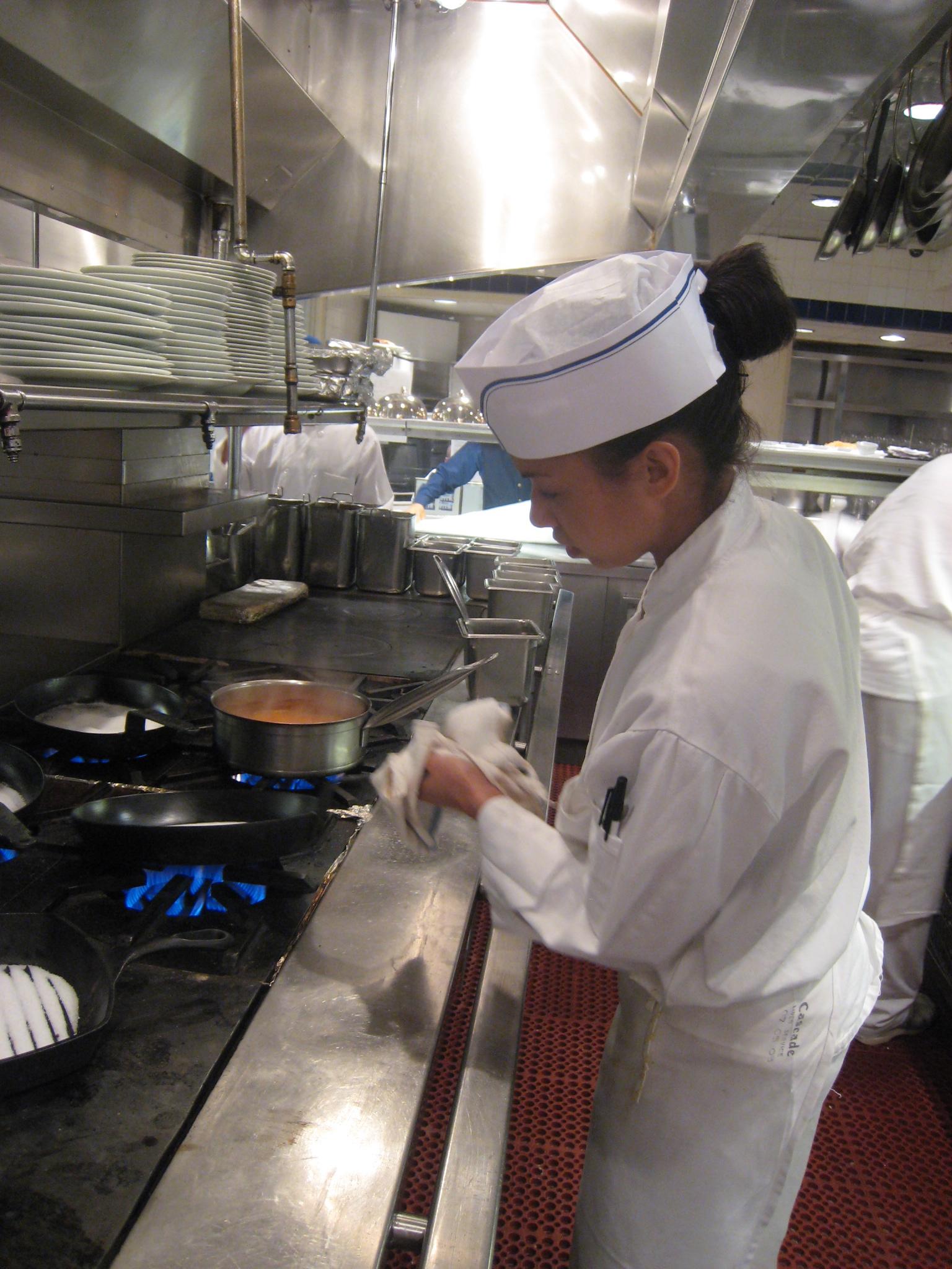 Le Bernardin The Women In The Kitchen