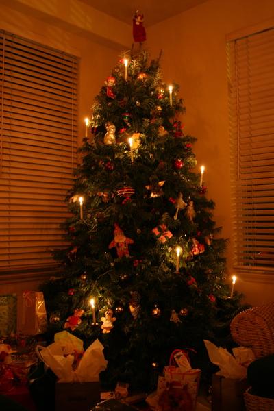 Candlechristmastree